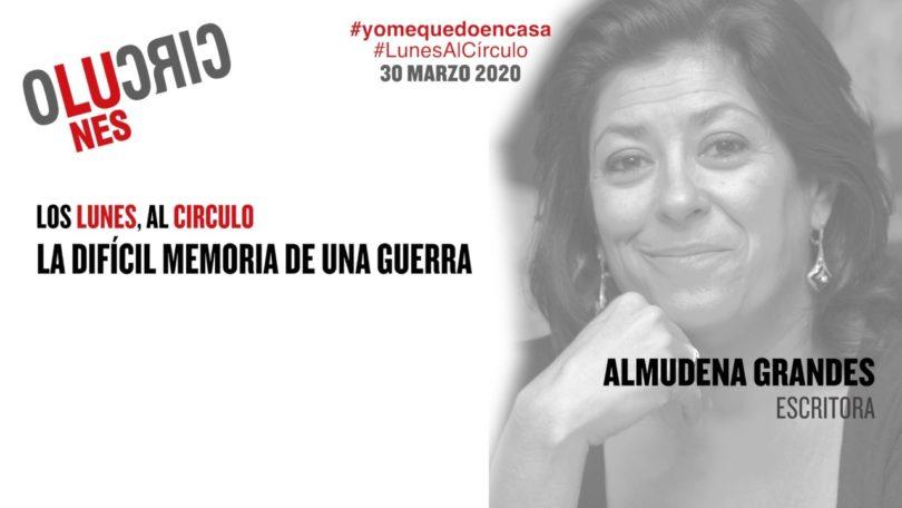 Conferencia virtual: Almudena Grandes 30.03.20 #Yomequedoencasa