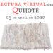 Lectura virtual del Quijote