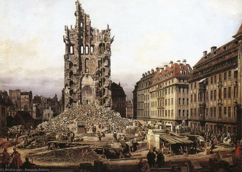 Las ruinas no son consecuencia de un mero sumatorio –el de un destrozo y otro– sino que en su condición varia suelen signar un declive, derrumbe o corrupción arquitectónica.