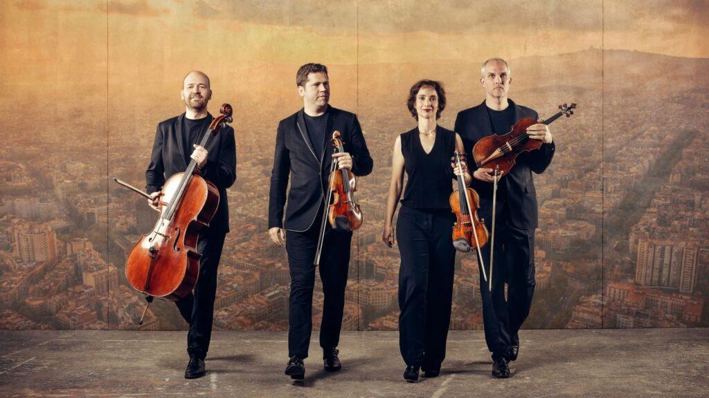 Cuarteto Casals + Juan Pérez Floristán en Círculo de Cámara el 13.12.2020