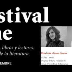 Elvira Lindo & Renato Cisneros en Festival Eñe 2020 «Utopía y distopía en la familia»