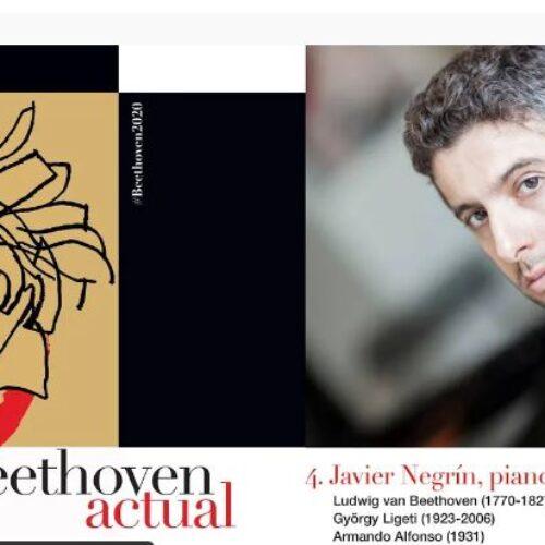 Javier Negrín. Beethoven Actual