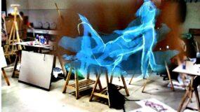 Reapertura del taller nº 2 de pintura