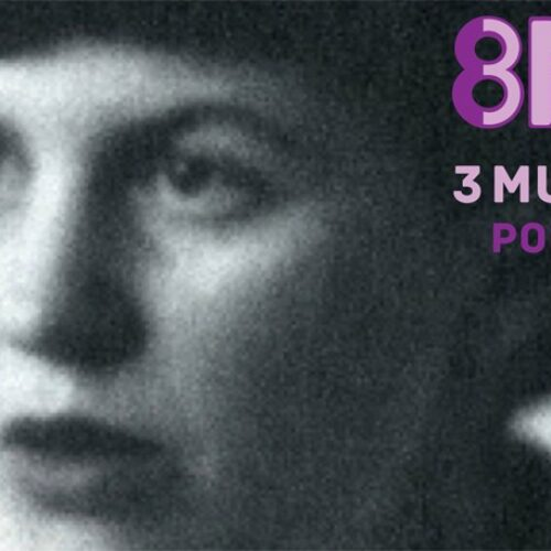Tres mujeres por el 8M. Lectura continuada radiofónica de Tres mujeres, de Sylvia Plath