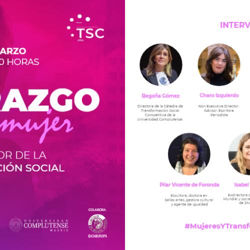 Mesa redonda: Liderazgo de la mujer como motor de la transformación social