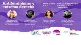 Mesa redonda: Antifeminismo y extrema derecha