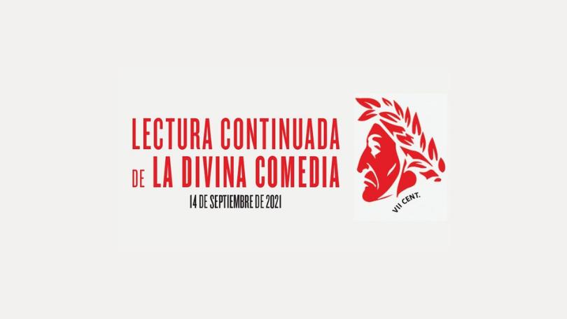 La Lectura Continuada de la Divina Comedia de Dante tiene lugar el 14 de septiembre de 2021.