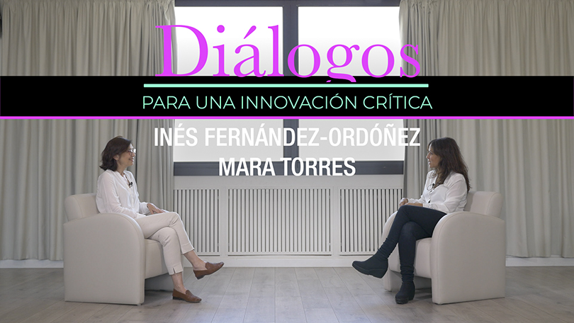 Diálogo para una innovación crítica entre Mara Torres e Inés Fernández-Ordóñez