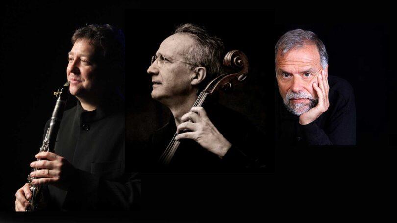 Joan E. LLuna (clarinete), Lluís Claret (violonchelo), Josep Colom (piano)