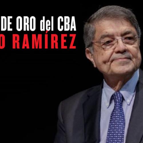 Medalla de Oro del CBA a Sergio Ramírez