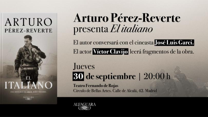 Presentación: Arturo Pérez-Reverte