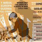 Mujeres y niños en una Europa en guerra (1914-1949) | Inauguración y presentación del catálogo